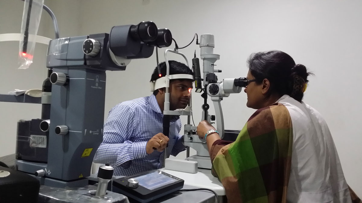 Contact Lens & Low Vision Aid